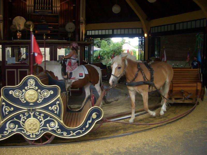 Ponykarussell Wiener Prater