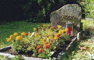 Individualgrab am Tierfriedhof Waldesruh
