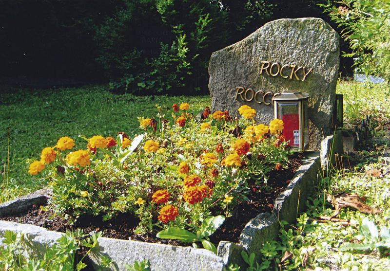 Individualgrab am Tierfriedhof Waldesruh