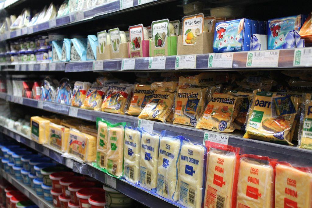 Auch unsere Lebensmittel sind mit Plastik verpackt