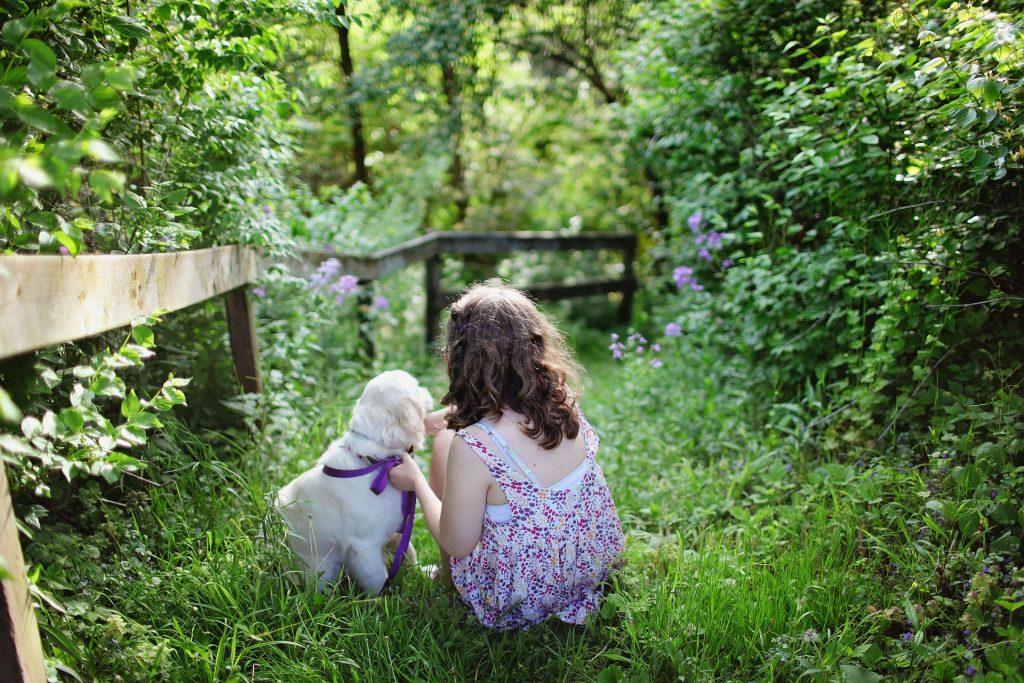 Kinder sind gut für Hunde